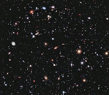 Galaxer i universum.