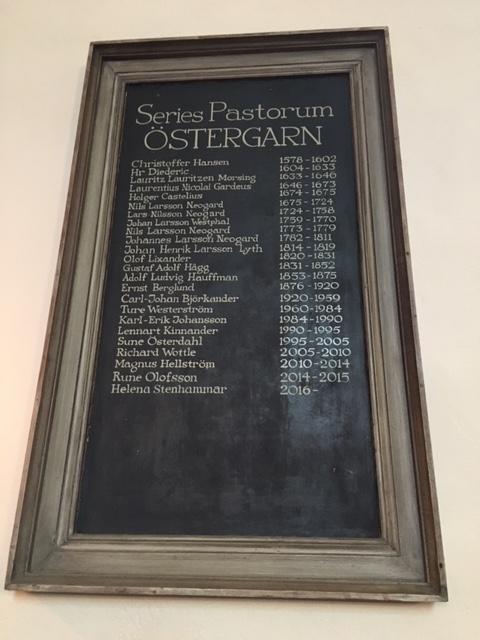 Series pastorum