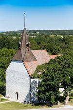 Östergarns kyrka.